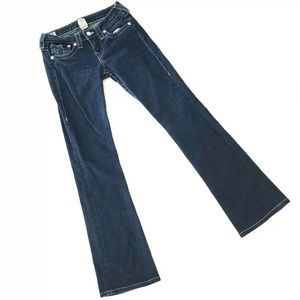 True Religion Jeans Denim Becky Bootcut Sz 27 1H